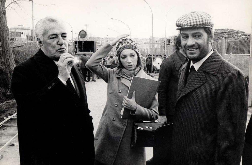 Vittorio de Sica e Nino Manfredi
