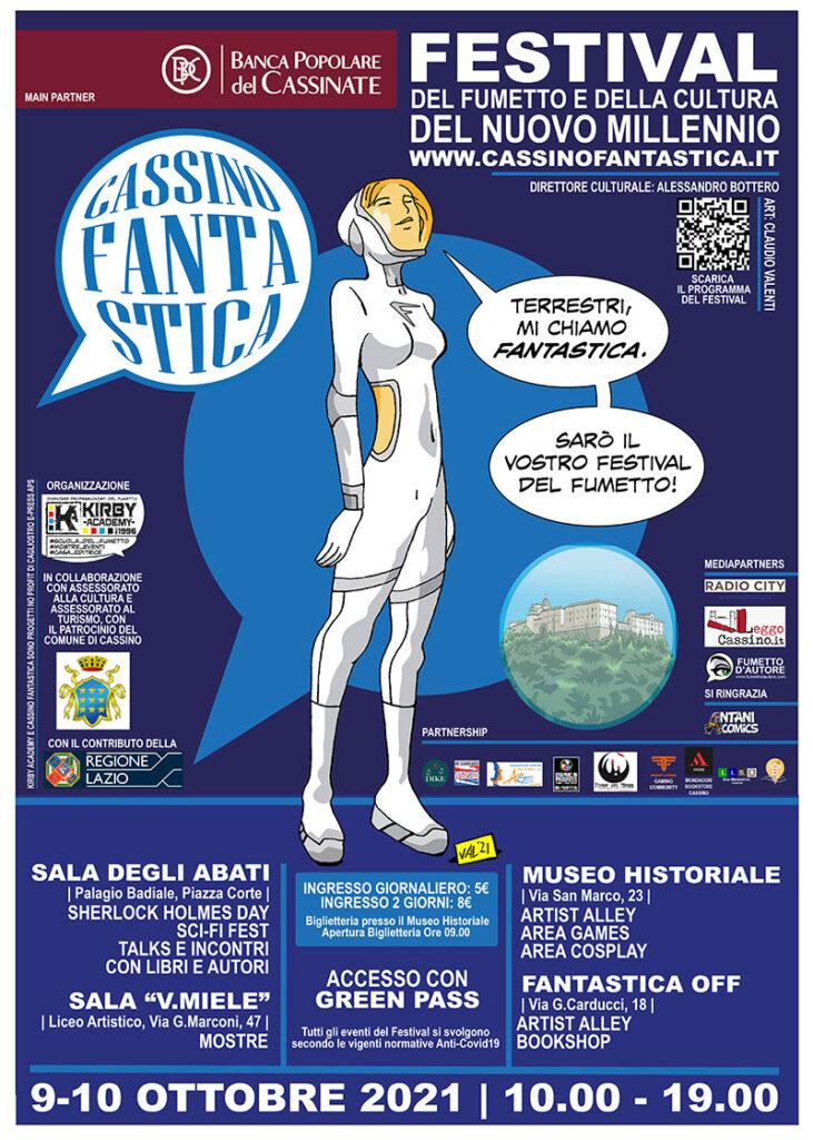Cassino Fantastica - Primo Festival del Fumetto del Basso Lazio - Eventi