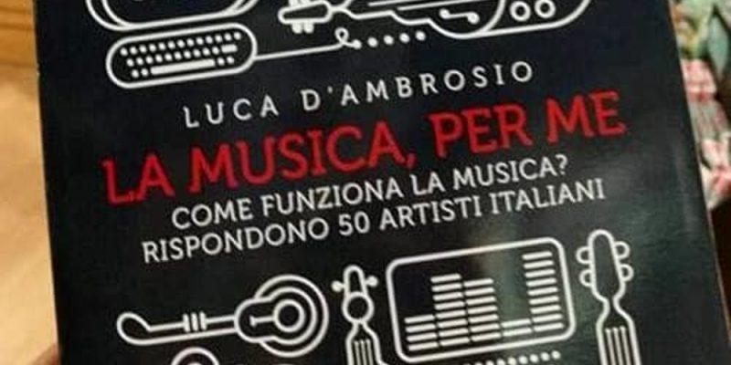 """Frosinone, presentazione del libro """"La musica per me"""""""