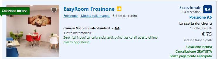 Hotel Frosinone vicino casello autostradale