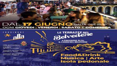 Le Terrazze del Belvedere a Frosinone- manifesto