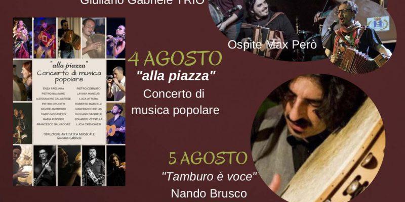 festival della cultura popolare del Centro Sud Italia