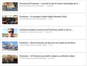 notizie frosinone e provincia 18 aprile 2018